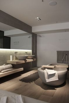 Une salle de bain contemporaine | design d'intérieur, décoration, maison, luxe. Plus de nouveautés sur http://www.bocadolobo.com/en/inspiration-and-ideas/