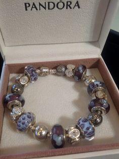 Completed Pandora Bracelet