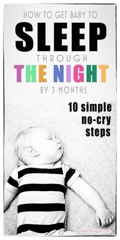 There are a lot of baby sleep tips out there I swear by these Whether you are breastfeeding or formula feeding, they will help your newborn baby SLEEP THROUGH THE NIGHT BY 3 MONTHS. So traditional cry-it-out sleep training methods wont be necessary! Baby Monat Für Monat, Sleep Training Methods, Baby Sleep Training, Cry It Out, Thing 1, Baby Kicking, Get Baby, Sleeping Through The Night, Tips & Tricks
