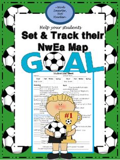 NwEa Map Student Goal Setting Sheet  We: #sit down one-on-one #discuss strengths and weaknesses #set realistic goals #pinpoint areas of improvement and specific actions to get them there #discuss what can be done at home #discuss what can be done at school  I copy this form and send it home to the families so they also receive this feedback. They appreciate all the information and the realistic strategies to help their student improve and reach yearly goals.