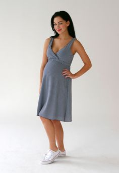 351b81438168 Belabumbum s best maternity and nursing basic for lounging or wearing out  on the town -- before or after baby. Our reversible dress gives you two  looks in ...