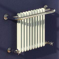 reina+radiators+>+camden+traditional+towel+radiator+(chrome).+743x493mm.+-+taps4less.ie