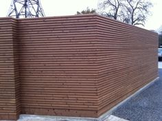 tuinscherm in free willy® thermowood outdoor woodconcept