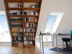 Biophilic Architecture, Bureau Design, Attic Remodel, Cozy Room, Showroom, Bookcase, Sweet Home, New Homes, Loft