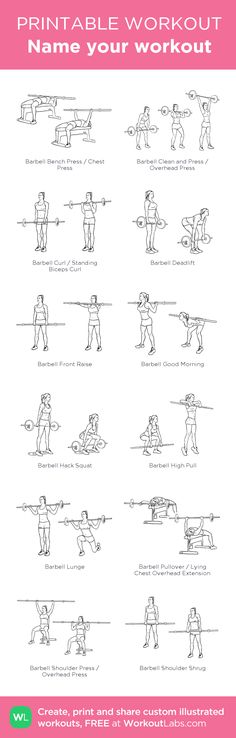 Workout 1-my visual workout created at WorkoutLabs.com •  #customworkout