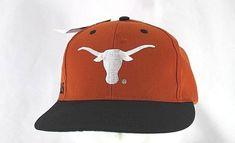 d3624a3901c Texas Longhorns Burnt Orange Black Baseball Cap Snapback  NuImage   BaseballCap Black Baseball Cap