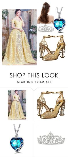 """Untitled #34"" by sdlover-hb ❤ liked on Polyvore featuring Dolce&Gabbana, BeautyandtheBeast and contestentry"
