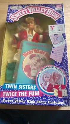 Sweet Valley High Elizabeth Wakefield Doll incl. exclusive new short story 2.41+3.5
