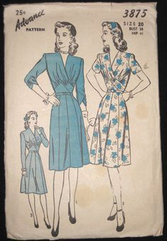 40s formal dress sewing patterns - Google Search
