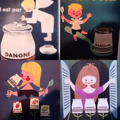 Beautiful advertising from the earlier Danone days