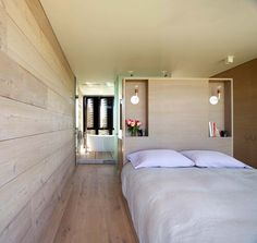 Contemporary summer house in the dunes of Amagansett