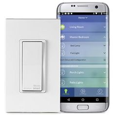 Decora Smart Wi-Fi 15A Universal LED/Incandescent Switch, DW15S-1BZ
