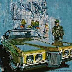 1970 Pontiac Grand Prix  by Art Fitzpatrick