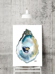 Coastal & Wildlife Art, Prints, and Gallery Wraps by ArtByAlexandraNicole Watercolor Print, Watercolor Paintings, Shell Collection, Painted Shells, Seashell Art, Coastal Art, Wildlife Art, Fine Art Paper, Oysters