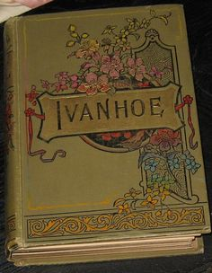 Vintage RARE 1800s EDITION of IVANHOE