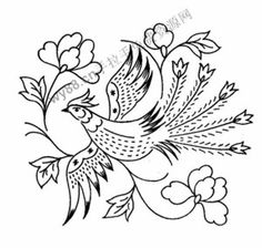 Embroidery Pattern from duitang.com. jwt