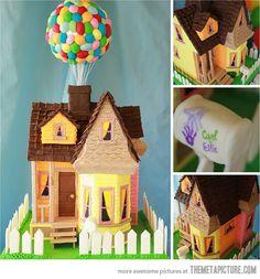 Up themed birthday cake…