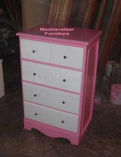 almari laci pink - Pink chest drawer • Max Havelaar Furniture • Indonetwork.co.id