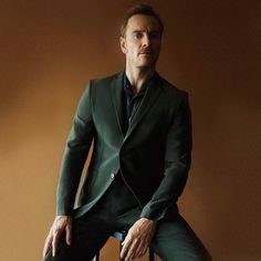 """RepostBy @fendi: """"Here's your Friday Fassbender fix!  #MichaelFassbender is dapper in #FendiSS17. Editorial by @modernweeklystyle"""""""