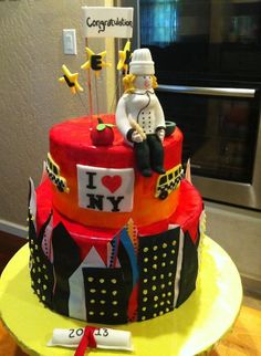 Graduation Cakes: Oh, the Delicious Places You'll Go!