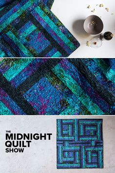Make your week a little more colorful and bright by tuning into the latest episode of The Midnight Quilt show with Angela Walters. Learn the tips and tricks behind sewing this gorgeous Rail Fence Quilt! Quilting Blogs, Quilting Tutorials, Quilting Projects, Quilting Designs, Quilting Ideas, Sewing Projects, Easy Quilts, Mini Quilts, Quilt Block Patterns