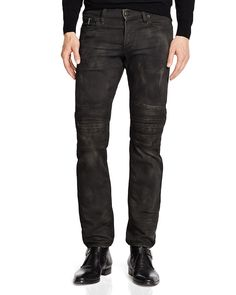 Moto jeans: i like the small zip pocket instead of the coin pocket.
