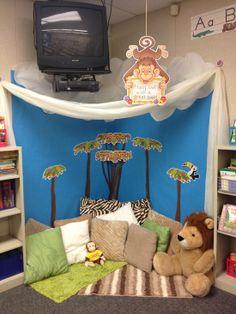 Reading corner - so inviting!.