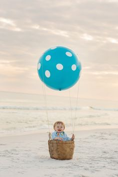 Little Boy's Vintage-Inspired Photo Session at the Beach by Kansas Pitts Photography | Two Bright Lights :: Blog