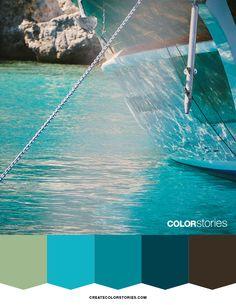 Anchored | Color Stories™  #colorstoriesblog #colorpalette #colour #colortheme…