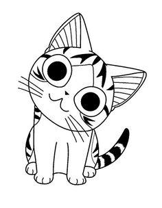 chi coloring pages | Jibanyan Yokai Watch Coloring Pages | coloring page ...