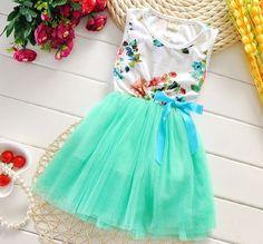 Mintgreen Dress for Girls Mint Green Tutu Dress for Infant Girls Baby Girl Tutu