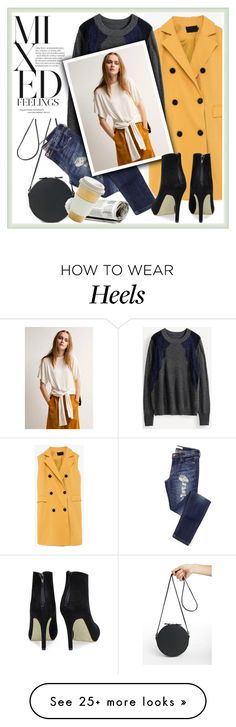 """""""Pop"""" by genuine-people on Polyvore featuring women's clothing, women's fashion, women, female, woman, misses, juniors and yellow"""