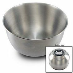Large stainless steel bowl for Sunbeam Heritage mixers. Fits Sunbeam Heritage mixer models etc. Kitchen Mixer, Small Kitchen Appliances, Kitchen Dining, Mixer Accessories, Stainless Steel Bowl, Appliance Parts, Mixers, Dog Bowls, Home Kitchens