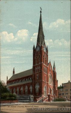 St. James Church Haverhill Massachusetts where my parents were married.