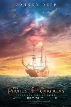 Pirates of the Caribbean: Dead Men Tell NoTales movie poster