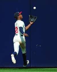 B. J. Upton #2 of the Atlanta Braves chases down a fly ball against the Chicago Cubs at Turner Field http://www.fansedge.com/BJ-Upton-Atlanta-Braves-472013-_651248315_PD.html?social=pinterest_pfid77-33411