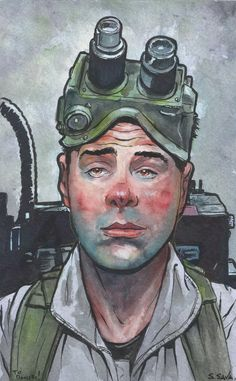Ray Stantz from Ghostbusters... by ssava on DeviantArt