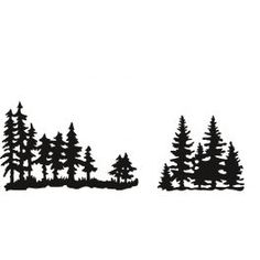 Marianne D Craftable Tiny`s Pinetrees