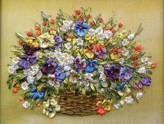 Gallery.ru / Светлана Герасимова - Розы, ландыши, анютки(фиалки), цветной горошек - Innetta