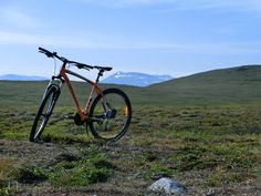 Mountainbiking at wilderness by Johannes Vallivaara Arctic, Wilderness, Bicycle, Bike, Bicycle Kick, Bicycles