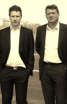 Nicolas Poilleux et Renaud Beretti