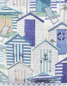 Richloom Beach Huts in Pool/Indoor..Outdoor fabric