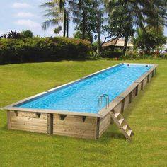 terrasse en cumaru avec marches pour piscine hors sol. Black Bedroom Furniture Sets. Home Design Ideas