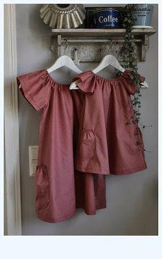 Orelma (Mekkotehdas) dresses for little girls / Mekkotehtaan Orelma-mekot tytöille