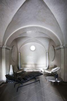 roberto falconi architetto / il palazzo settecentesco nella campagna lombarda di franciacorta