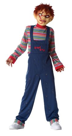 chucky costumes for kids | Cheap Chucky Child Costume at Go4Costumes.com