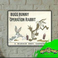 ¿#Sabíasque #Coyote apareció por primera vez en 1948 y no habló hasta 1952, en el corto Operación: conejo?