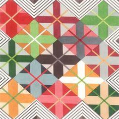 Inspiração em padrões têxteis