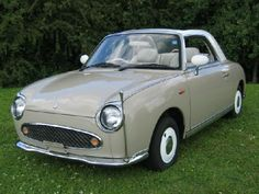 Nissan Figaros.  Love that classic cars are being done again. : )