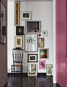 un due tre ilaria 5 INSPIRATIONS TO HANG ART ON WALLS